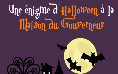 ANIMATION UNE ÉNIGME D' HALLOWEEN
