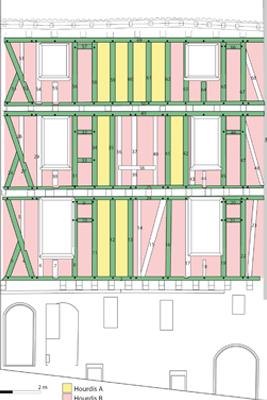 Conférence, Evolution d'une maison en pan de bois Présentée par Julien FOLTRAN