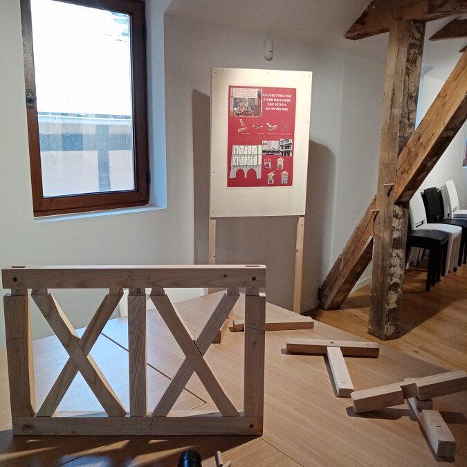 Atelier « construire en pan de bois » / Nouveauté 2021 du Pays d'art et d'histoire